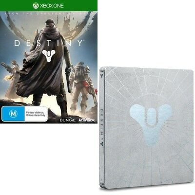 Destiny with Steelbook Case - Free Express Post from Sydney (Xbox One Game)
