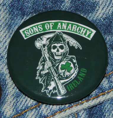 Pin Button Badge Ø38mm Sons Of Anarchy Ireland