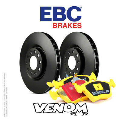 EBC Rear Brake Kit Discs & Pads for Audi A3 Cabriolet 8P 2.0 TD 2008-2013