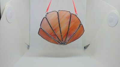 Stained Glass Window/Wall Decoration Gift (Handmade) Seashell New Tiffany Style
