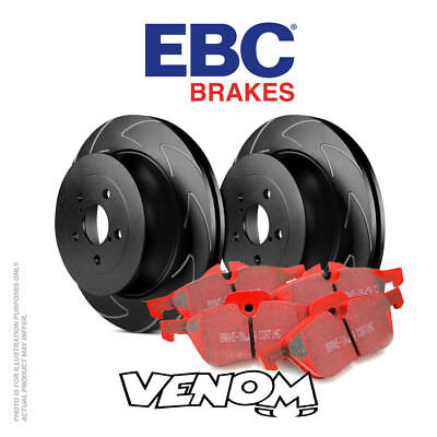 EBC Front Brake Kit Discs & Pads for BMW 328 3 Series 2.8 (E36) 95-2000