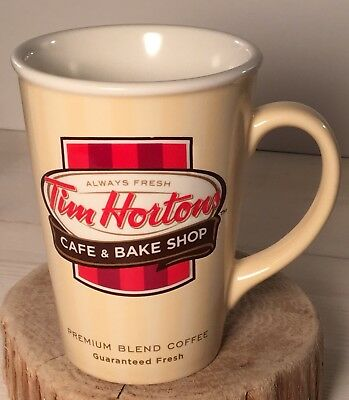 Tim Hortons Cafe & Bake Shop 2012 Limited Edition Mug - VGUC - Free shipping