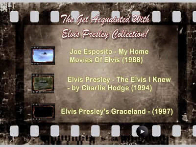 """The """"Get Acquainted With Elvis Presley"""" Collection! Rare VHS Transfers!"""