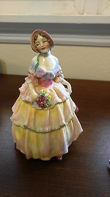 "Early Royal Doulton English China Irene 6 3/4"" Figurine, RN 787516 HN 1621 30s"