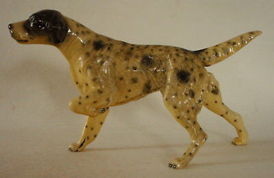 "Vintage ""MORTENS STUDIO"" English Setter Dog Figure, Hunt Stance (Pointing Pose)"