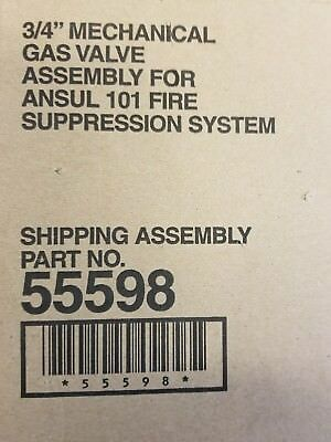 "Ansul PN 55598 3/4"" Gas Valve for R-102 system"