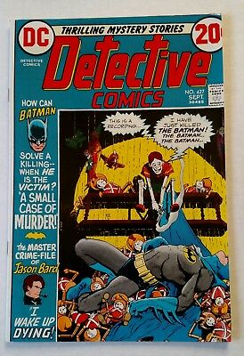 DETECTIVE COMICS 427 HIGH GRADE Glossy cover! OW/W pgs