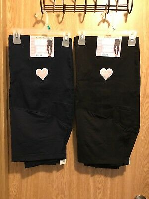 Great Expectation Maternity M XL XXL Black Dark Rinse Over Belly Denim Jegging