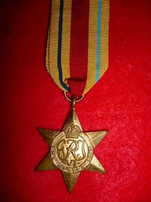 The Africa Star Medal WW2 - Named to Adams. C Prefix = Colored African