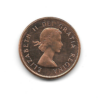 1963 BU Red Canadian Cent