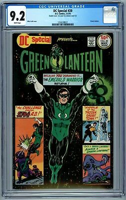 DC Special #20 CGC 9.2 Rare DOUBLE Cover! Green Lantern phl1