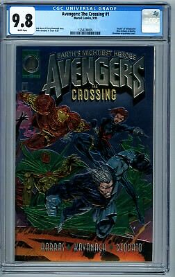 Avengers: The Crossing #1 CGC 9.8 Death of Yewllowjacket phl1