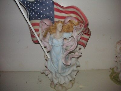 """Seraphim Classics Angel """"Liberty"""" """"Let Freedom Reign"""" 84432 by Roman large"""