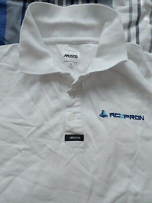 musto mens polo. Size medium