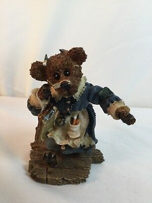 Ms. Bruin...The Teacher Boyds Bears & Friends, Bearstone Collection 2414 1998
