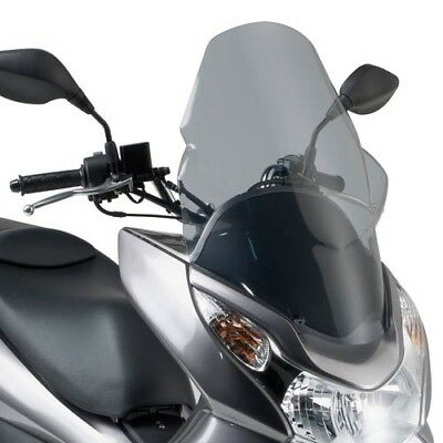 Scooter Spoiler PLATE TINTED Honda PCX 125 Build Year 10 to 13 Givi Windshield