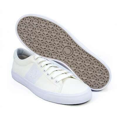 b1d932e78fca7d MEN FRED PERRY Shoes Underspin Twill Trainers Casual Sneakers B2034 ...
