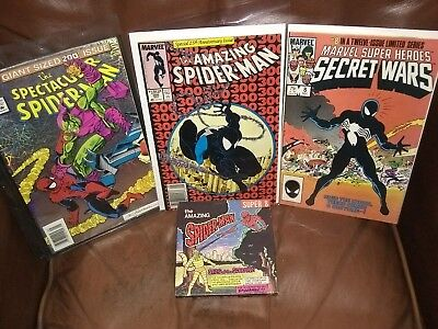 The Amazing SpiderMan #300 / Secret Wars #8 / The Amazing SpiderMan Super 8 Film
