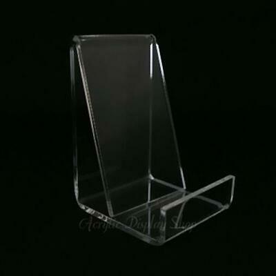 Acrylic Business Card or Cell Phone Display Holder - Vertical