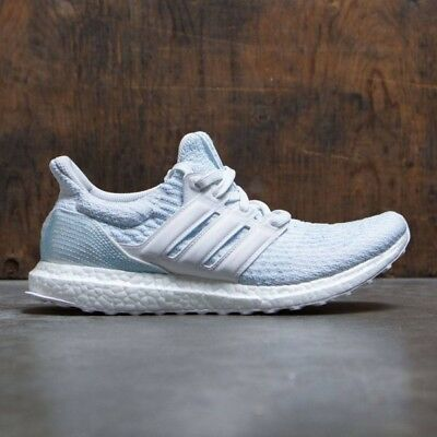 9ce276b0d192a ADIDAS ULTRA BOOST Parley Uncaged size 10.5. CP9686 Ice Blue Teal ...
