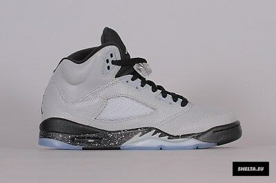 best sneakers 08039 7e5ca ... inexpensive nike air jordan 5 v retro wolf grey black size 8.5y. 440892  008