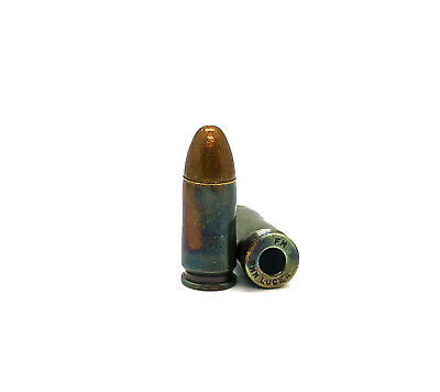 5 rounds Multigun 3 Gun Dummy Training Rounds Snap Caps 9mm real weight.