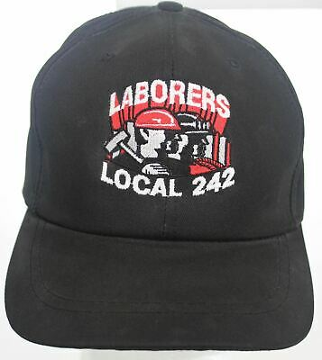 Vintage Laborers Local 242 LiUNA Construction Workers Union Washington Hat Cap