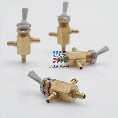 4Pcs Dental Chair Valve 2 Way Selector Water/Air Change Way Dental Water Adjusto