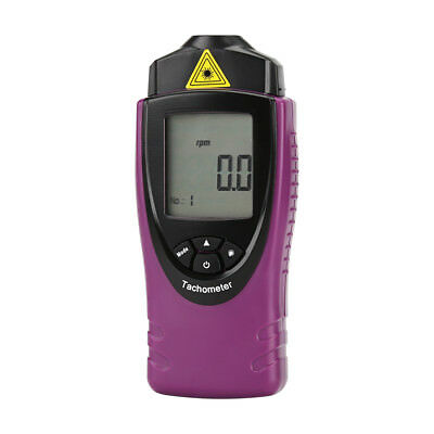 Digital Laser Tachometer - rps + rpm Measurment, 0.02% Accuracy, 400mm Range ,