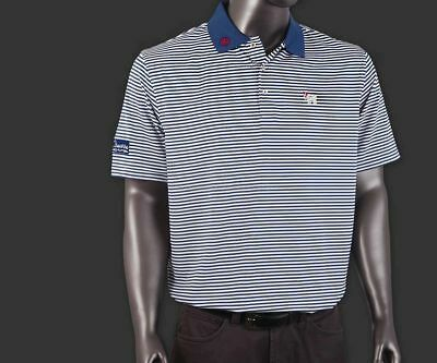 Brand New Large Scotty Cameron Peter Miller Polo 2015 US Open Blue Bulldog