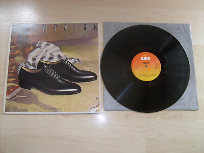 Champaign LP how 'bout us CBS 84927; 1981 (Funk/Soul) (I'm on fire; Can you find
