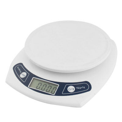 Kitchen 7kg 7000g/1g Mini Digital Electronic Weight Scale White