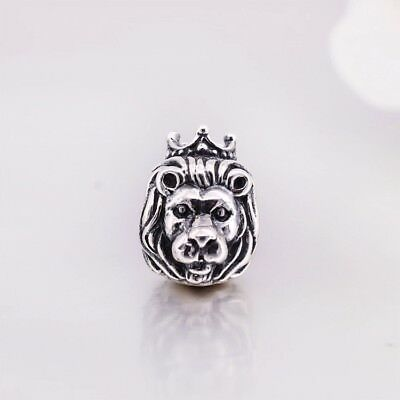 Charm , Bead , Löwe, Lion Löwencharm Anhänger 925 Sterling Silber Bead Beads