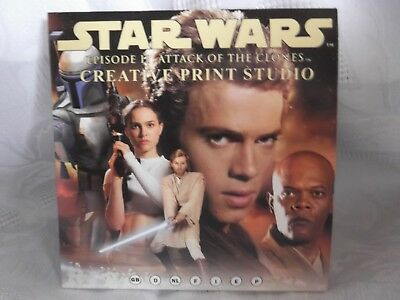 Star Wars CD-Rom Episode 2 Attack of the Clones Creative Print Studio