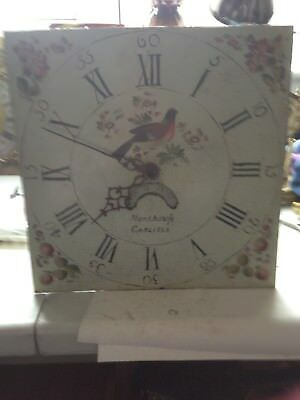 Hand Painted 30 Hr Clock Dial and Movement