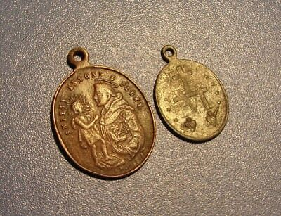Ancient BRONZE AMULETS OF CHRISTIAN. Middle Ages. Оriginal