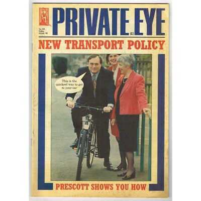 Private Eye Magazine July 24 1998 MBox3081/C No 955 New transport policy