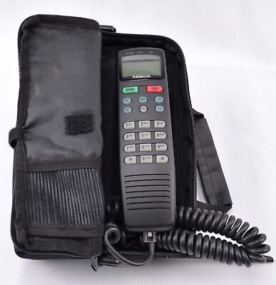 Vintage Nokia C250 Analog Bag Phone Cell Cellular Car Portable Telephone Prop