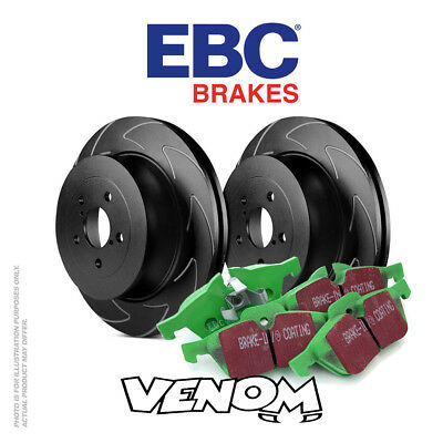 EBC Rear Brake Kit Discs & Pads for Vauxhall Astra Mk5 H 2.0 Turbo 170 2004-2010