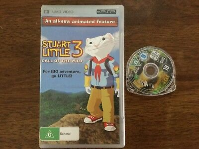 Stuart Little 3 Call of the Wild UMD Portable Sony Playstation PSP Movie