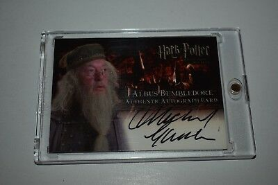 Harry Potter Michael Gambon Dumbledore Auto Poa