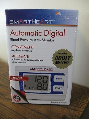 New! Smart Heart Automatic Digital Blood Pressure Arm Monitor