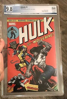 CBCS 9.8 WP Hulk #1 by Ed McGuinness Variant  (181 homage) X-23 NM/MT