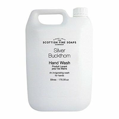 Scottish Fine Soaps BY070-5 Silver Buckthorn Hand Wash, 5 L Pack of 2