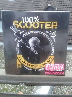 Scooter - 100% Scooter - 25 Years Wild & Wicked (limited Deluxe Box) neu rar