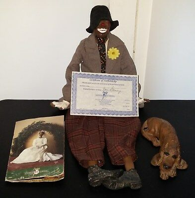 Daddy's Long Legs Cecil Doll Jake Dog COA Catalogue Hobo Clown Karen Germany Lot