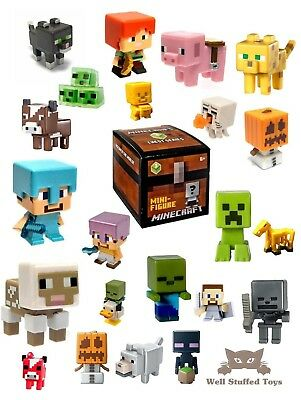 Minecraft Game Pack Of 3 Mini Figures Series 3 Collectables For Ages 6+