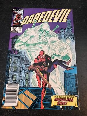 Daredevil#243 Incredible Condition 8.5(1987) Nameless One !!