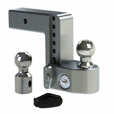 Weigh Safe Drop Hitch w/Weight Scale 6″Drop Length 2.5″ Shaft Size #WS6-2.5