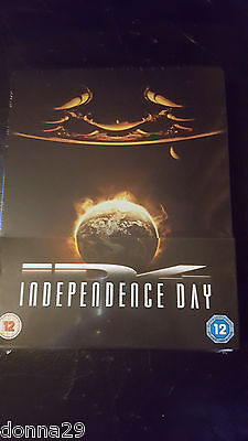 Independence Day BLU-RAY ZAVVI / play.com sold-out STEELBOOK NEUF et scellé +